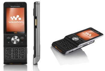 Sony Ericsson W910i Noble Black Quadband 3G Walkman Unlocked Phone