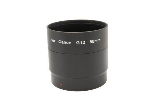 Fujiyama UV-Filter, Polarisationsfilter, Gegenlichtblende, Objektivdeckel) für Canon Powershot G12 G11 G10