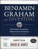 Benjamin Graham On Investing (0070677581) by Benjamin Graham,Rodney G. Klein
