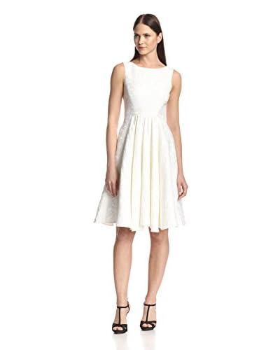 Badgley Mischka Women's Textured Day Dress