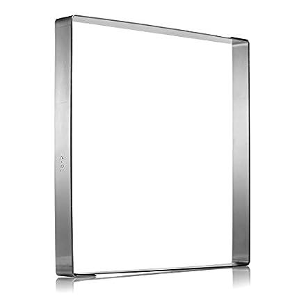 18cm x 18cm Stainless Steel Ganache Frame