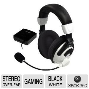 Turtle Beach Ear Force X31 Wireless Stereo Gaming Headphones W/Boom Microphone & Inline Volume Control For Xbox 360 (Recertified)