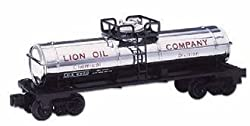 Lionel O Gauge Single Dome Tank Car LION Plated 6-19628