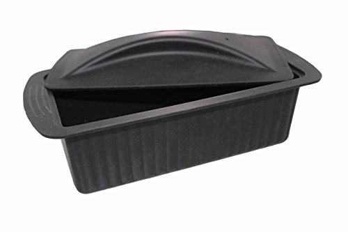 Elicuisine 12132 Terrine Silicone Noir 28 x 13 x 10 cm