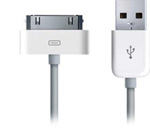 Delton Premium Iphone 4s Data Sync Cable - Retail Packaging - White