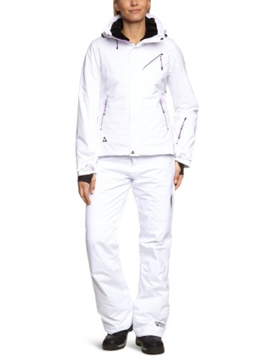 Fischer Damen Jacke Cortina D'Ampezzo, white, 42, 040 0022