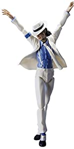 "Bandai Tamashii Nations S.H. Figuarts Michael Jackson ""Smooth Criminal"" Version Action Figure"