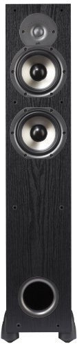 Polk Audio Monitor 55T Two-Way Ported Floorstanding Speaker (Single, Black)