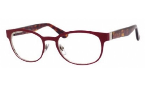 Yves Saint Laurent Yves Saint Laurent 2356 Eyeglasses-07H7 Burgundy/Dark Havana-52mm
