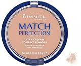 RIMMEL MATCH PERFECTION ULTRA CREAMY COMPACT POWDER 103 TRUE IVORY