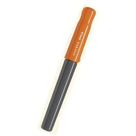 "(Japan Import) Pilot Fountain Pen For Beginners ""Kakuno"" Medium Nib Fka-1Sr (Orange)"