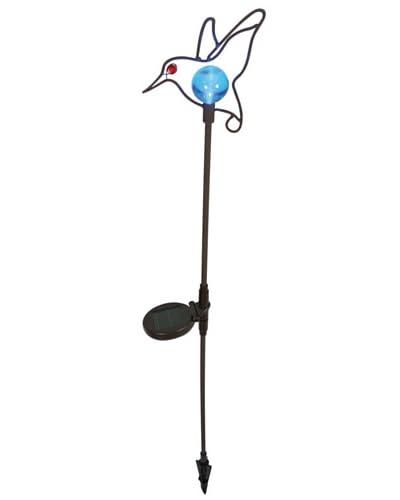Näve Leuchten Lámpara Solar Bördy Azul