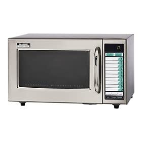 Sharp Medium Duty Commercial Programmable Microwave - 1000 Watt