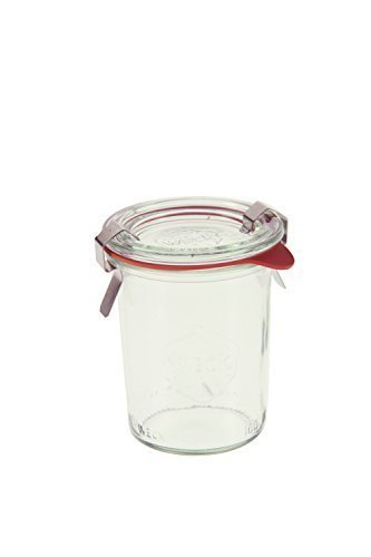 Weck 760 Mini Mold Jar, 5.4 Ounce - 12 Jars
