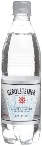 Gerolsteiner Mineral Water, 16.9-Ounce Bottles (Pack of 24)