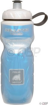 Polar Bottle Polar Insulated Water Bottle: 20oz; Blue