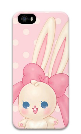 Baby Bunny Hard Protective 3D Case For Iphone5 Iphone5S By Sakuraelieechyan front-367443