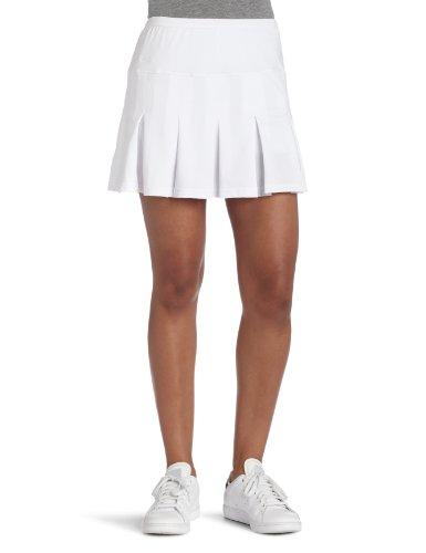 Bollé Women's Essential Multi-Pleat Tennis Skirt, White, Large