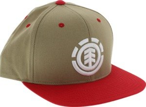 Element Knutsen Khaki / Red Adjustable Hat