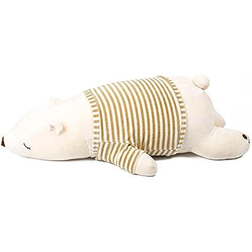 IKASA 녹아들 듯 하는 듯한 촉감 프리미엄 수면쿠션 안고 자는 베개 L사이즈 화이트 76x33x23cm