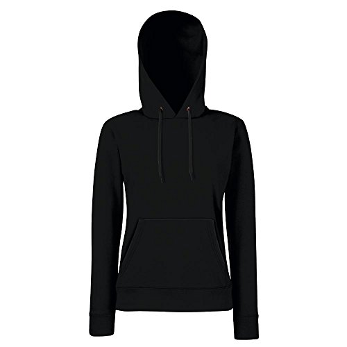 fruit-of-the-loom-lady-fit-hooded-sweat-sblack