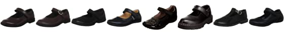 Toughees Kids Kate Velcro School Shoe