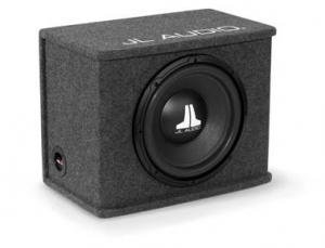 "Jl Audio Cs112-Wx One 12"" Jl Audio 12Wx-4 Loaded In A Sealed Basswedge Enclosure (Gray Carpet)"
