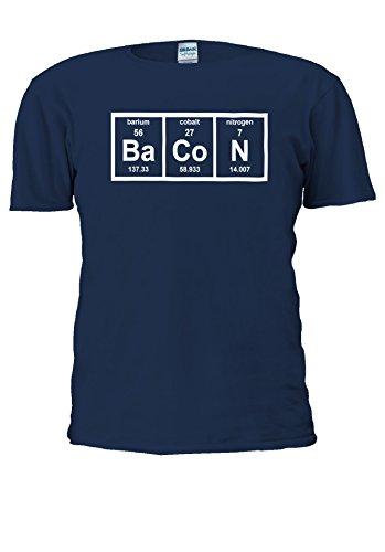 NisabellaLTD -  T-shirt - Maniche corte  - Uomo .Navy Large