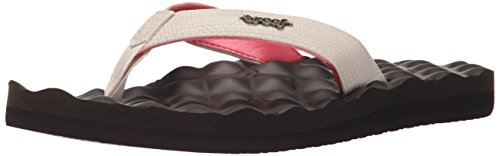 Reef Women's Reef Dreams Flip Flop, Cream Brown, 7 M US