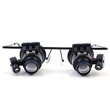 20 Times-Glasses With Led Lamp High Power Magnifying Glass
