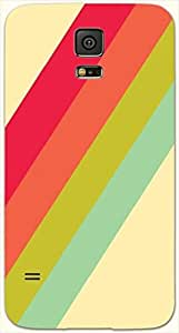 Noticeable multicolor printed protective REBEL mobile back cover for Samsung Galaxy S5 / SM-G900I D.No.N-L-15029-S5