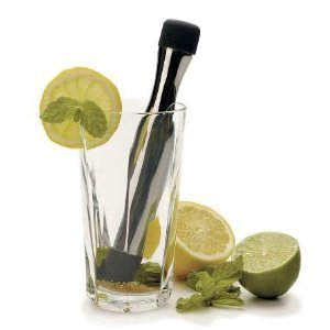 Stainless Steel Hand Held Mojito Muddler front-632158
