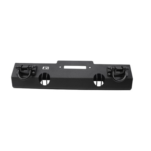 Red Ridge 11540.10 Textured Black Front Bumper Base with Winch Mount