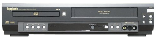 Cheapest Prices! Symphonic WF803 DVD/VCR Combo