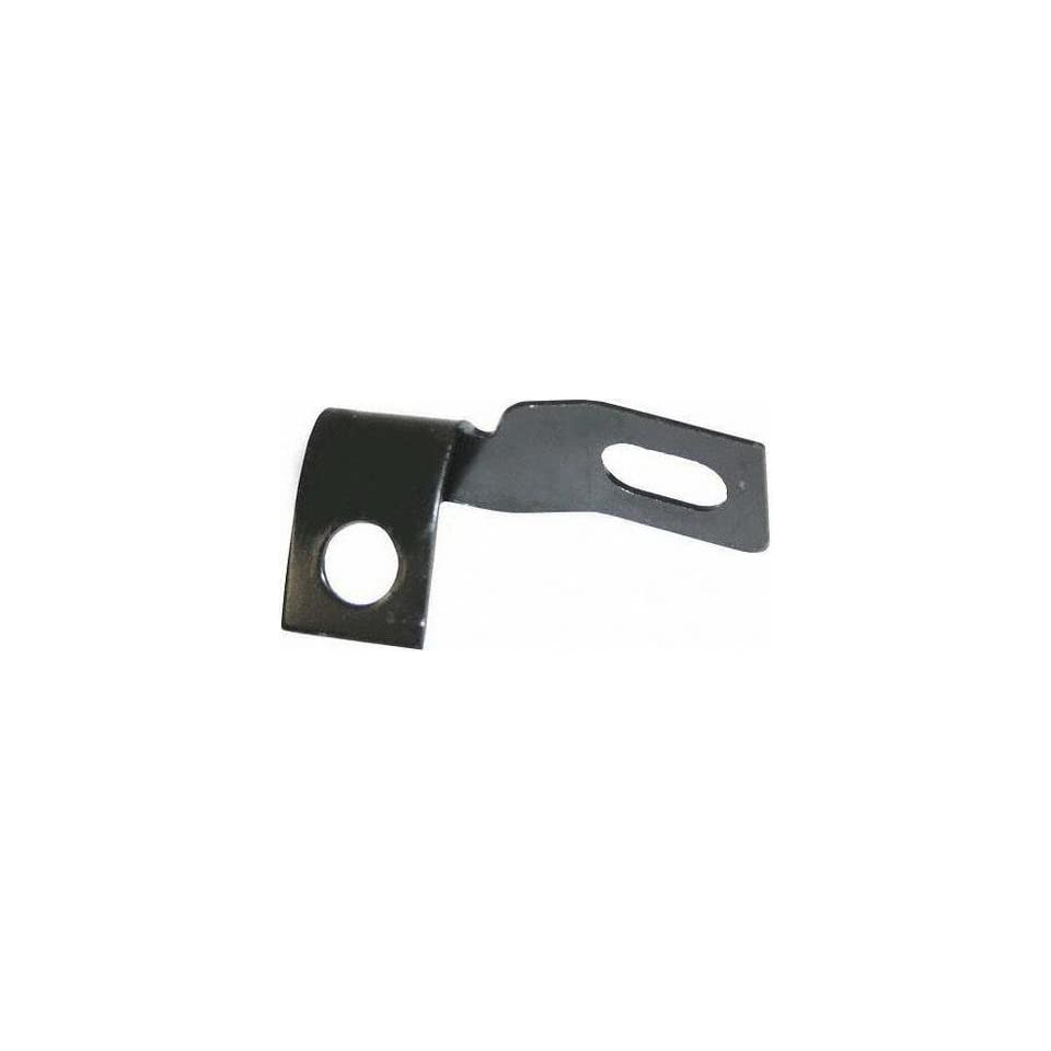64 66 FORD MUSTANG FRONT BUMPER BRACKET LH (DRIVER SIDE), Outer To Fender (1964 64 1965 65 1966 66) F00013104 C5ZZ17A870A