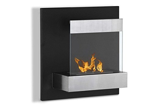 Jasper Free Standing Electric Fireplace Stove 25 Inch Black Portable Electric Vintage