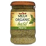 Sacla Organic Basil Pesto 190G