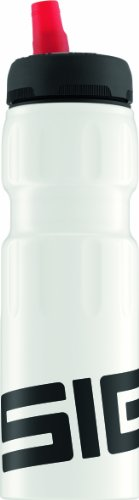 Sigg Dynamic Touch Water Bottle, White, 0.75-Litre front-738526
