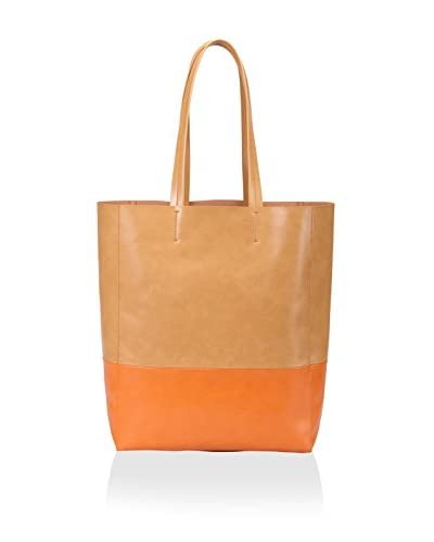 Sorial Women's Park Avenue Tote, Camel/Orange As You See