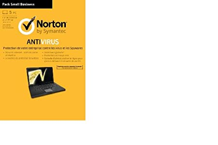 Norton antivirus 2013 - 1 an / 5 postes