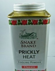 Classic Prickly Heat Powder Snake Brand (100 Gram)