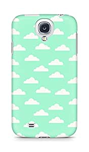 Amez designer printed 3d premium high quality back case cover for Samsung Galaxy S4 (Cloud Pattern4)