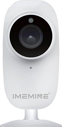 iMeMine HD Tag/Nacht Baby Monitor Kabelloses Netzwerk Überwachung IP Kamera Eingebautes Mikrophon, Mobiltelefon Bedienung Monitoring Bewegungsmelder, Email Benachrichtigung Eingebaute SD Karte DVR