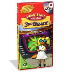 Jump Smart TV DVD Game - 3rd Grade: Power Prep - 1