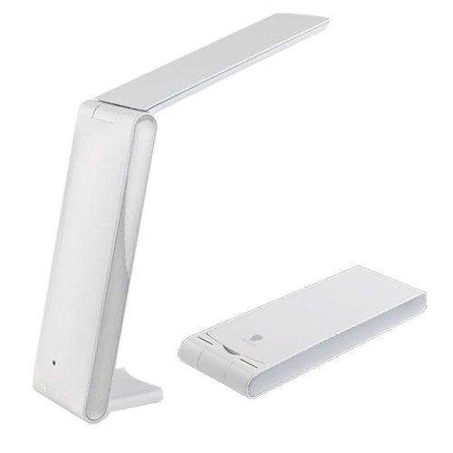 uk sale low cost foldi led lamp in white. Black Bedroom Furniture Sets. Home Design Ideas