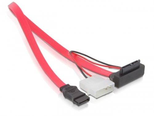 Delock Sata Cable Slim 0 3m Cavi Panorama Auto