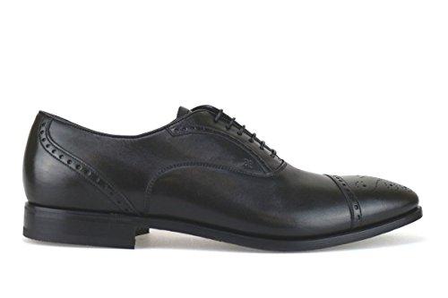 scarpe uomo FABI 45 EU classiche nero pelle AK918