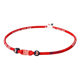 PHI-TEN MLB Authentic X30 Necklace, Boston Red Sox, 22 Inches