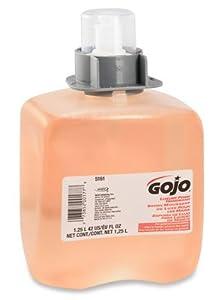 1250mL GOJO Foaming Soap - Dispenser Refill Bottle