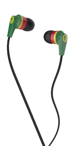 Skullcandy Ink'd 2.0 In-Ear Headphones - Rasta
